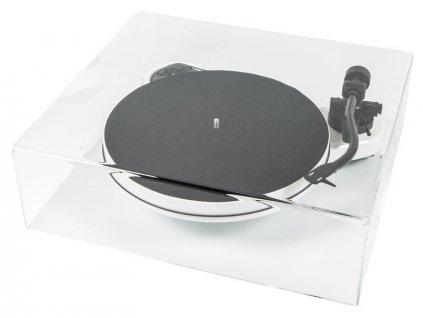 Kvalitní snímatelný plexi kryt pro gramofony Pro-Ject COVER IT RPM 1/3 CARBON