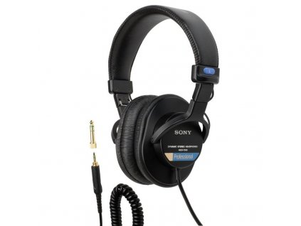 Kvalitní profesionální elektrodynamická referenční sluchátka Sony MDR-7506