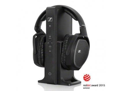 Kvalitní digitální stereo souprava s uzavřenými stereo sluchátky Sennheiser RS 175