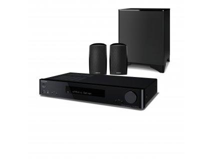 Kvalitní domácí kino 2.1 - síťový stereo receiver s reproduktory a bezdrátovým subwooferem Onkyo LS5200