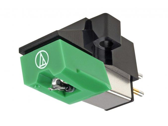 Kvalitní gramofonová přenoska (vložka) typu MM s eliptickým hrotem a půlpalcovým úchytem Audio-technica AT 95
