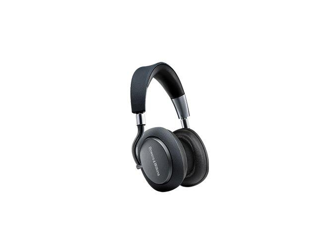 Kvalitní velká Aptx HD Bluetooth uzavřená sluchátka s hybridním potlačením hluku Bowers & Wilkins PX