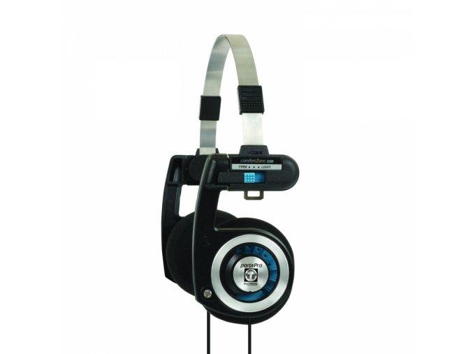 Kvalitní stereofonní dynamická otevřená sluchátka Koss Porta Pro