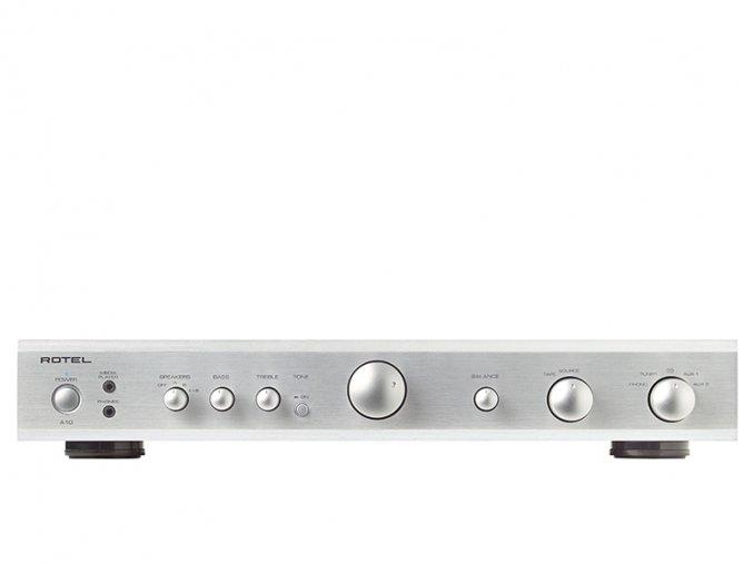 Kvalitní integrovaný zesilovač s výkon 2x 40W (8 ohm) Rotel A10