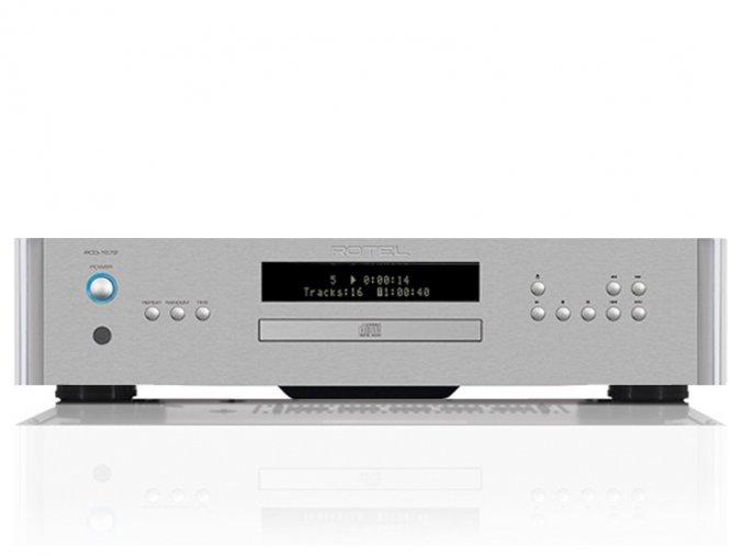 Kvalitní CD přehrávač se špičkovým D/A převodník Wolfson 24-bit/192kHz Rotel RCD-1572
