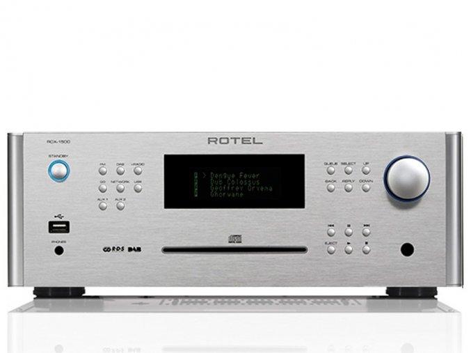 Kvalitní stereofonní CD receiver s ethernetovými funkcemi Class D zesilovač s výkonem 2x 100W / 8 ohm Rotel RCX-1500