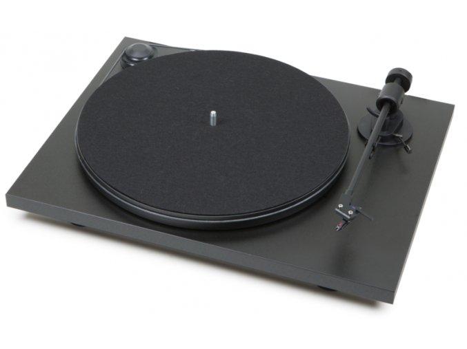 Kvalitní dvourychlostní gramofon s řemínkovým pohonem a osvědčenou přenoskou Ortofon OM5E Pro-ject Primary + Ortofon OM5