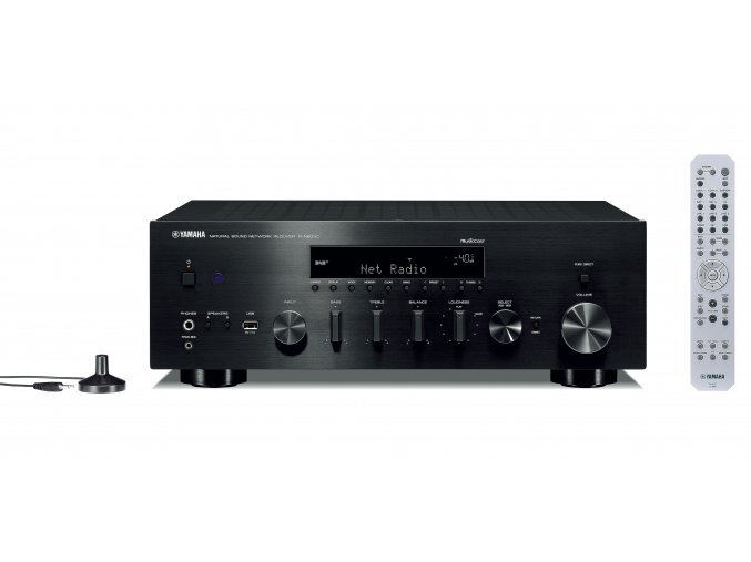 Kvalitní stereo receiver s výkonem 2×100W Yamaha R-N803D