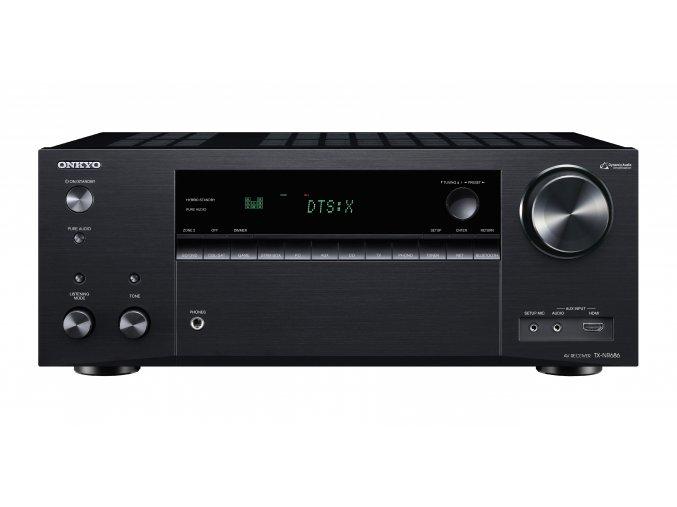 Kvalitní 7.2 kanálový AV receiver s pokročilými síťovýmia ovládacími funkcemi Onkyo TX-NR686