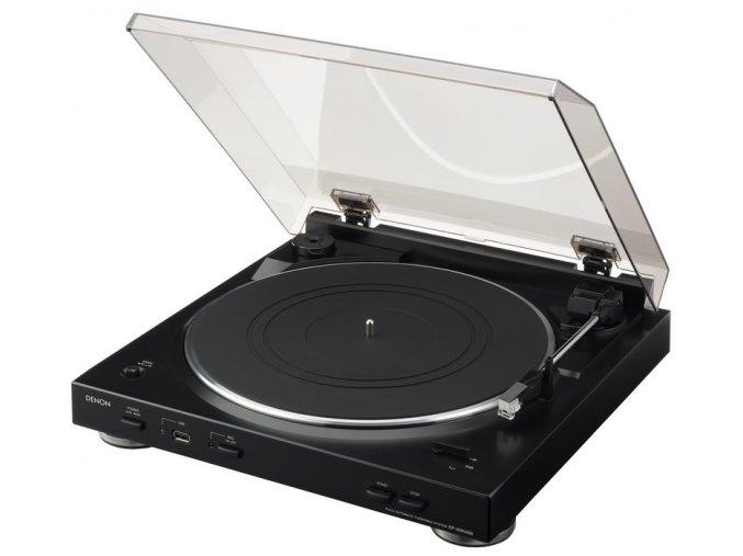 Kvalitní automatický dvourychlostní gramofon s možností nahrání na USB Denon DP-200USB