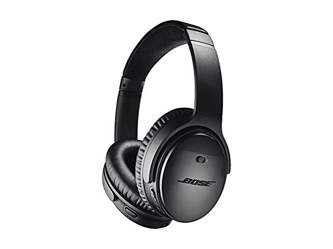 Kvalitní bezdrátová sluchátka s aktivním potlačením okolního hluku Bose QuietComfort 35 II