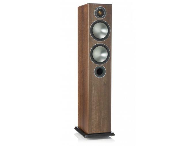 Kvalitní 2,5-pásmová sloupová podlahová reprosoustava s bassreflexem Monitor Audio Bronze 5