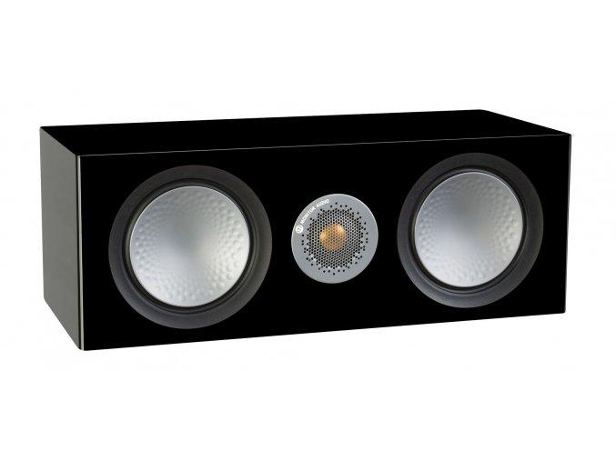 Kvalitní 2,5-pásmový centrální reproduktor pro domácí kino s bassreflexem Monitor Audio Silver C150