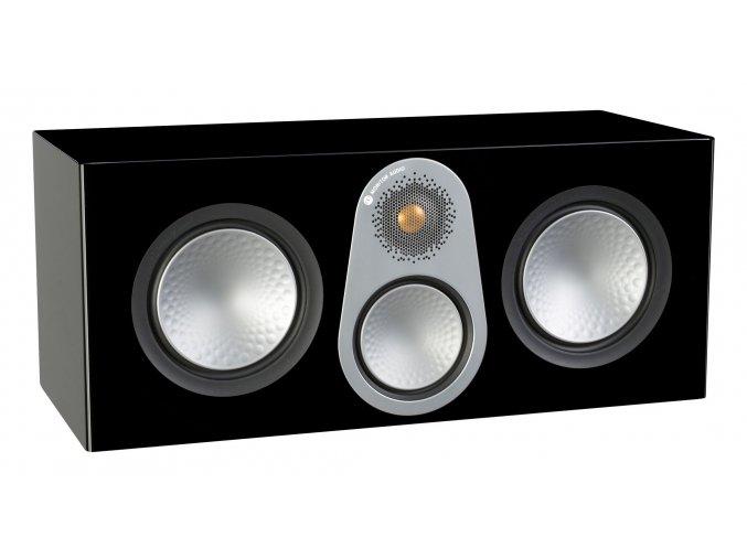 Kvalitní 3-pásmový centrální reproduktor pro domácí kino s bassreflexem Monitor Audio Silver C350