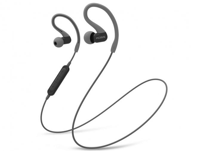 Kvalitní stereofonní bezdrátová sportovní sluchátka do uší Koss BT232i