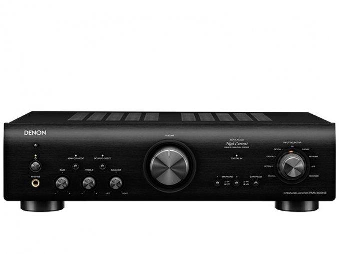 Kvalitní HiFi integrovaný stereofonní zesilovač s D/A převodníkem a výkonem 85W na kanál Denon PMA-800NE