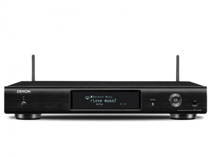 Kvalitní síťový přehrávač s AirPlay Denon DNP-730AE (R)