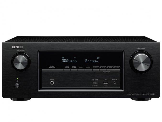 Kvalitní receiver s rozsáhlými možnostmi konektivity, síťovými funkcemi, podporou 3D i 4K videa a zabudovaným WiFi i Bluetooth AVR-X3200W