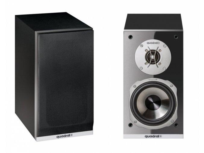 Kvalitní subtilní dvoupásmová regálová (stojanová) reprosoustava s výborným zvukovým projevem Quadral Argentum 520