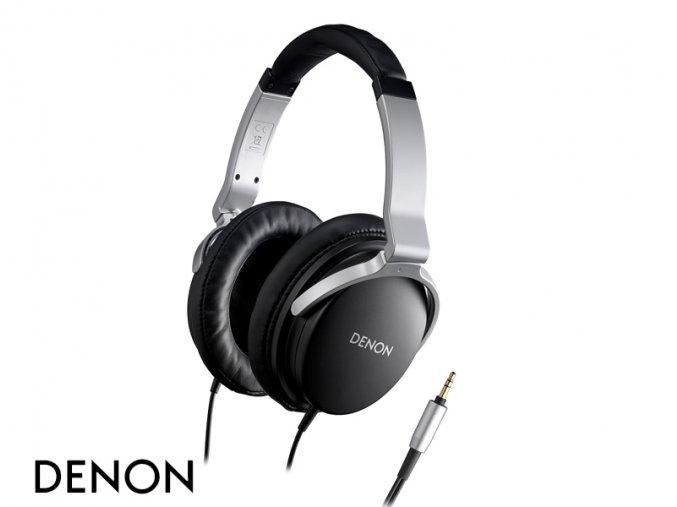Kvalitní uzavřená sluchátka pro domácí poslech Denon AH-D1100
