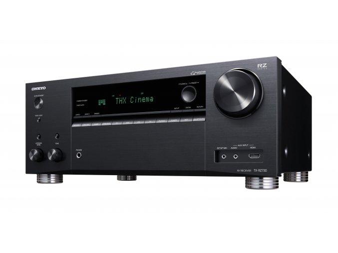 Kvalitní síťový receiver 7.2 s výkonem zesilovače 180 W na kanál Onkyo TX-RZ830