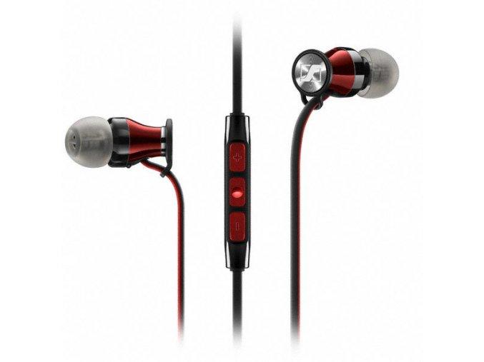 Kvalitní dynamická stereo sluchátka do uší s mikrofónem Sennheiser Momentum In-Ear i
