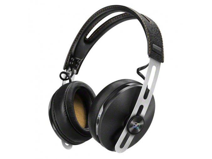 Kvalitní uzavřená circum-aurální dynamická stereo sluchátka Sennheiser Momentum M2 Wireless