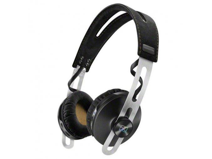 Kvalitní uzavřená supra-aurální dynamická stereo sluchátka Sennheiser Momentum On-Ear Wireless