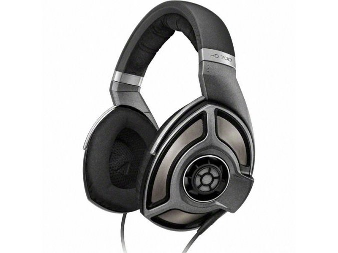 Kvalitní high-endová otevřená dynamická stereo sluchátka Sennheiser HD 700