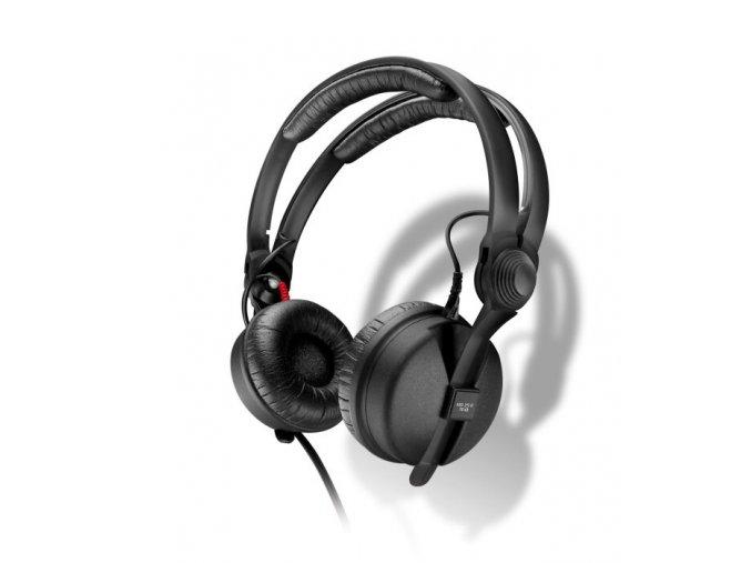 Kvalitní profesionální uzavřená sluchátka s jedním odklopným sluchátkem Sennheiser HD 25 Basic Edition