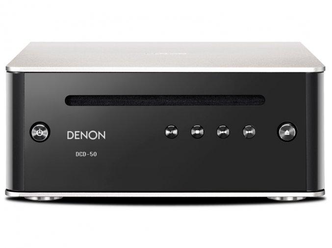 Kvalitní HiFi CD / SACD přehrávač s D / A převodníkem Denon DCD-50