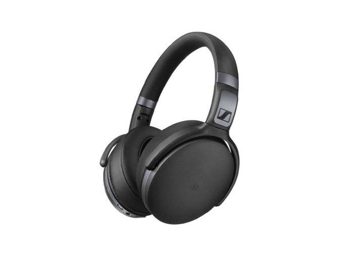 Kvalitní bezdrátová Bluetooth uzavřená sluchátka na uši Sennheiser HD 4.40BT