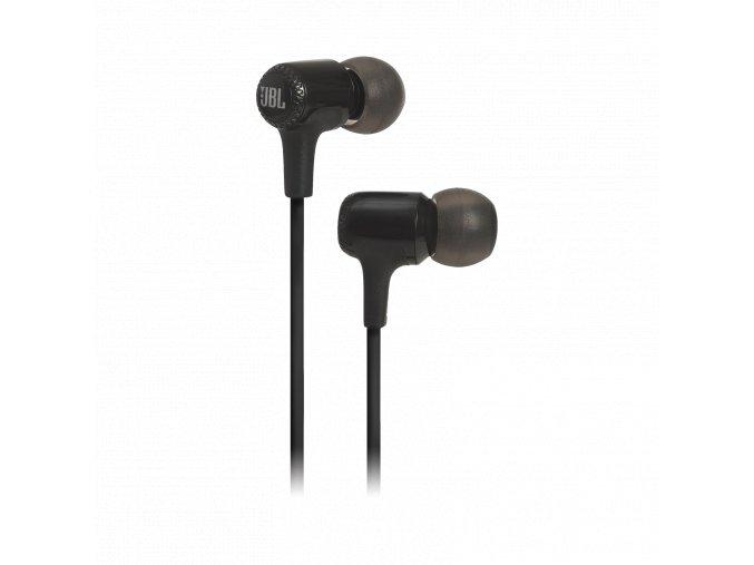 Kvalitní dynamická sluchátka in-ear s 8.6mm měničem a JBL zvukem JBL E15