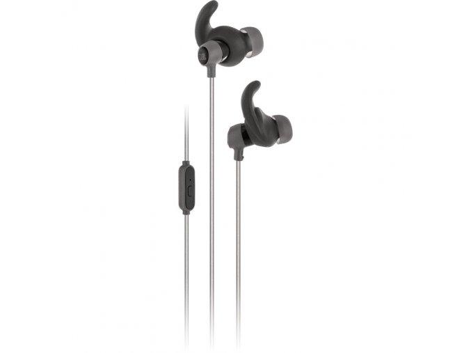 Kvalitní sportovní dynamická mini sluchátka in-ear s 5.8mm měničem a odolná vůči potu JBL Reflect Mini