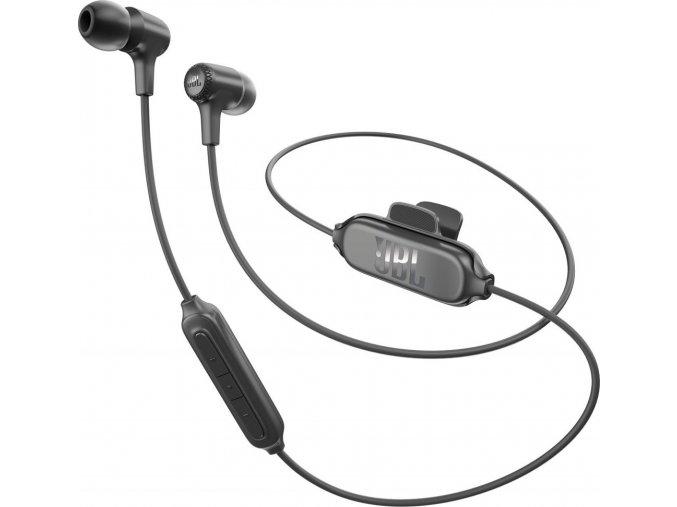 Kvalitní bezdrátová sluchátka do uší s 8mm měničem a JBL zvukem JBL E25BT