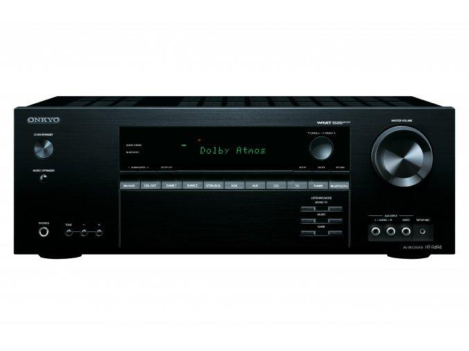 Kvalitní výkonné domácí kino s 5.1 systémem reproduktorů a podporou Dolby Atmos s podporou 3D Onkyo HT-S5805