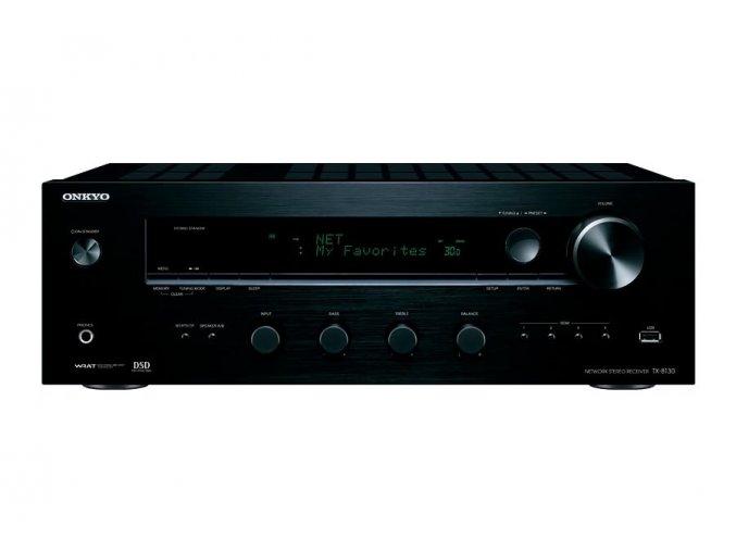 Kvalitní stereo zesilovač s WRAT technologií zesilovače a výkonem 2x 110W při 6 Ohmech Onkyo TX-8130