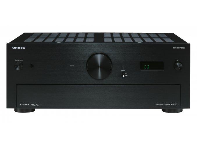 Kvalitní stereo zesilovač s výstupním výkonem 2x140W při 4Ω Onkyo A-9070