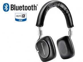 Kvalitní on-ear uzavřená bezdrátová sluchátka s pasivním odhlučněním Bowers & Wilkins P5 Wireless