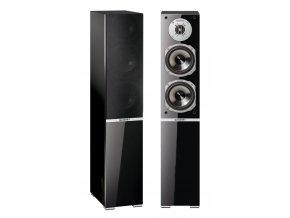 Kvalitní sloupové (podlahové) 3-pásmové reprosoustavy s impedancí 4 Ohmu, vysokou citlivostí a mohutným zvukem Quadral Argentum 550
