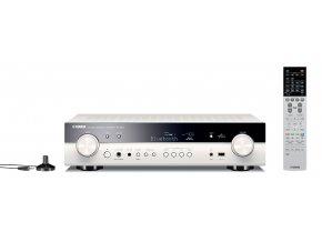 Kvalitní multikanálový 5.1 síťový AV receiver s tenkým (slim) designem Yamaha RX-S601White