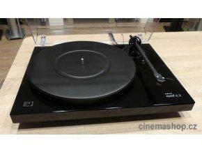 Kvalitní dvourychlostní gramofon s řemínkovým pohonem a velmi dobrou firemní přenoskou MM Tracker Music Hall mmf-2.2