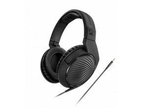 Kvalitní uzavřená a circumaurální sluchátka Sennheiser HD 200 Pro
