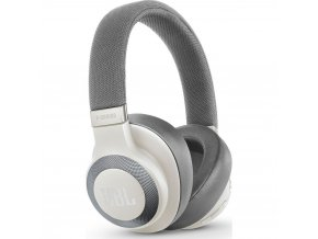 Kvalitní stereofonní bezdrátová uzavřená sluchátka s hlavovým mostem a aktivním potlačením hluku JBL E65BTNC