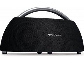 Kvalitní přenosný wireless reproduktor s Bluetooth a duálním mikrofonem Harman Kardon Go and Play