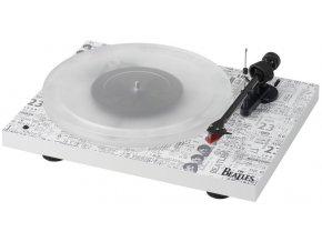 Kvalitní gramofon s tubusem z uhlíkového vlákna Pro-Ject Debut Carbon Esprit SB DC The Beatles 1964 Edition +2M-RED
