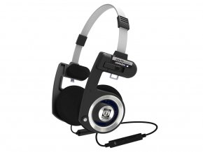 Kvalitní lehká skládací stereofonní dynamická sluchátka Koss Porta Pro Wireless
