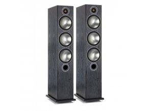 Kvalitní 2,5-pásmová podlahová reprosoustava s bassreflexem Monitor Audio Bronze 6