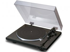 Kvalitní plně automatický dvourychlostní gramofon Denon DP-300F