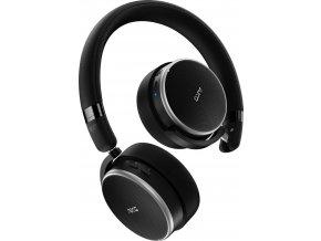 Kvalitní stereofonní náhlavní bezdrátová sluchátka s aktivním potlačováním okolního hluku AKG N60NC WIRELESS v černé barvě
